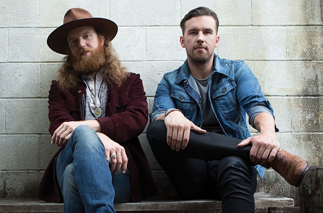 John Osborne and TJ Osborne of Brothers Osborne.
