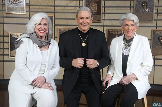 Bonnie, Jim Ed, and Maxine Brown