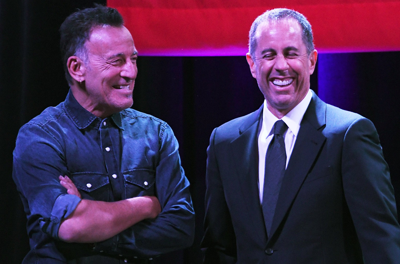 Bruce Springsteen and Jerry Seinfeld