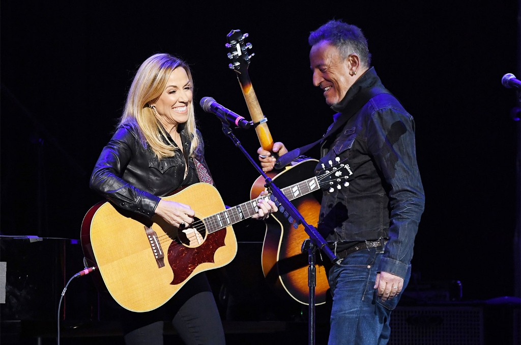 Sheryl Crow and Bruce Springsteen