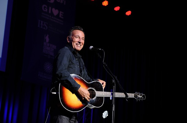 Bruce Springsteen performs Stand Up For Heroes Event