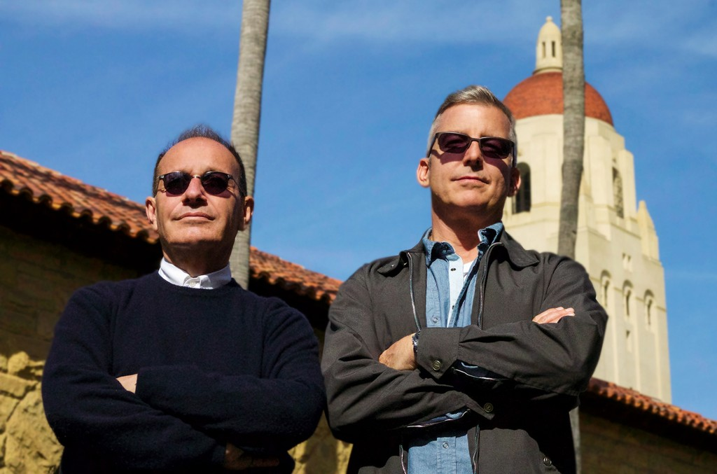 Chalkboard Music partners and LANDR advisers Bruce Roberts and Greg Mertz.