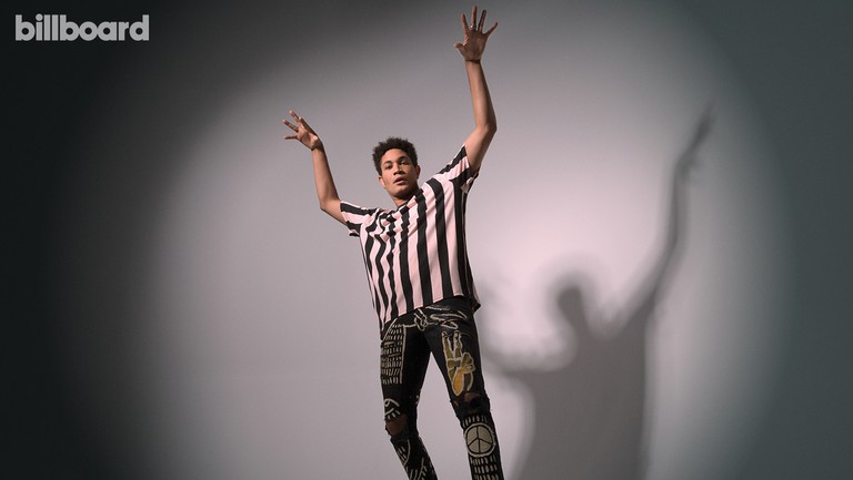 <p>Bryce Vine photographed on Sept. 4, 2018 at Optimist Studios in Los Angeles.&nbsp&#x3B;</p>