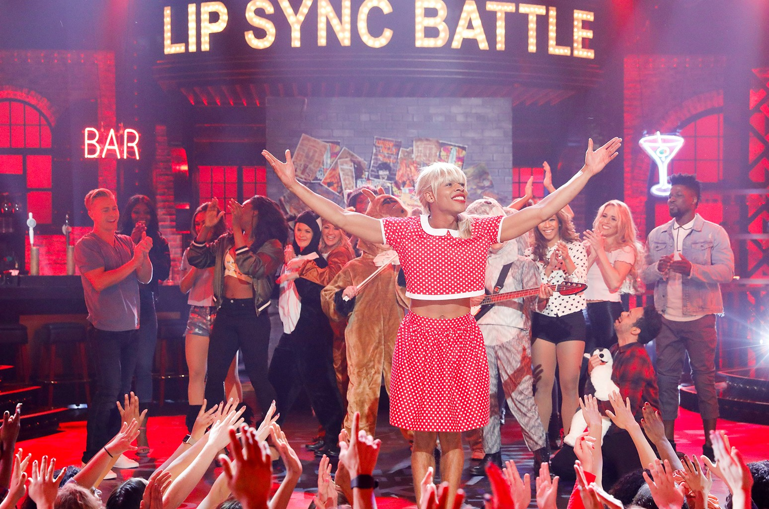 Bryshere Gray on Spike TV's Lip Sync Battle