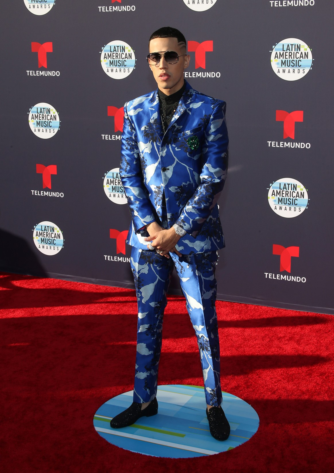 Brytiago attends the 2018 Latin American Music Awards at Dolby Theatre on Oct. 25, 2018 in Hollywood, Calif.