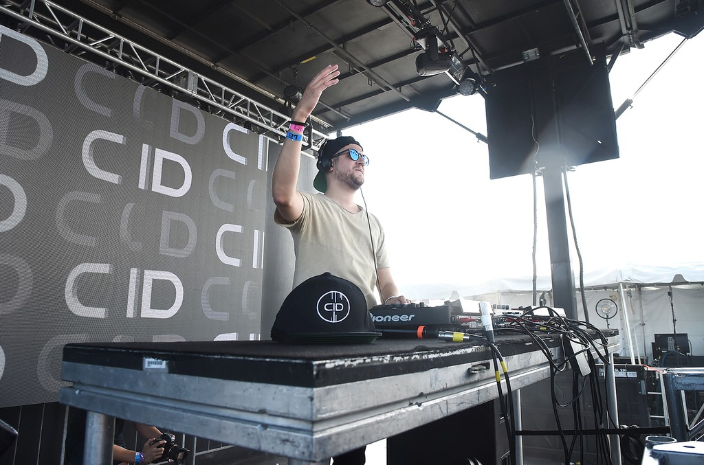 CID performs onstage during the 2016 Billboard Hot 100 Festival