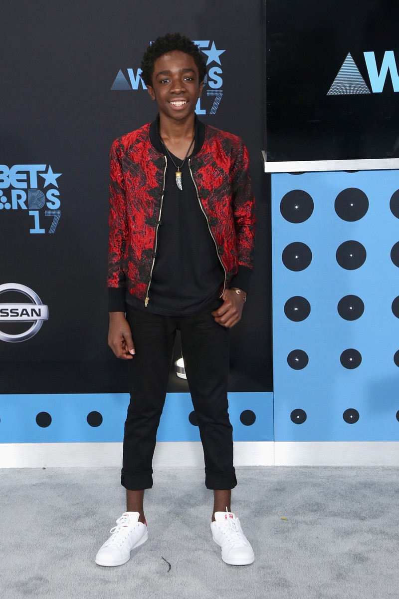 Caleb McLaughlin at the 2017 BET Awards at Microsoft Square on June 25, 2017 in Los Angeles.