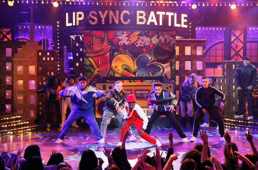 Caleb McLaughlin performs on Spike TV's Lip Sync Battle.