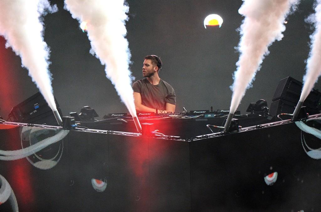 Calvin Harris at Billboard Hot 100 Fest
