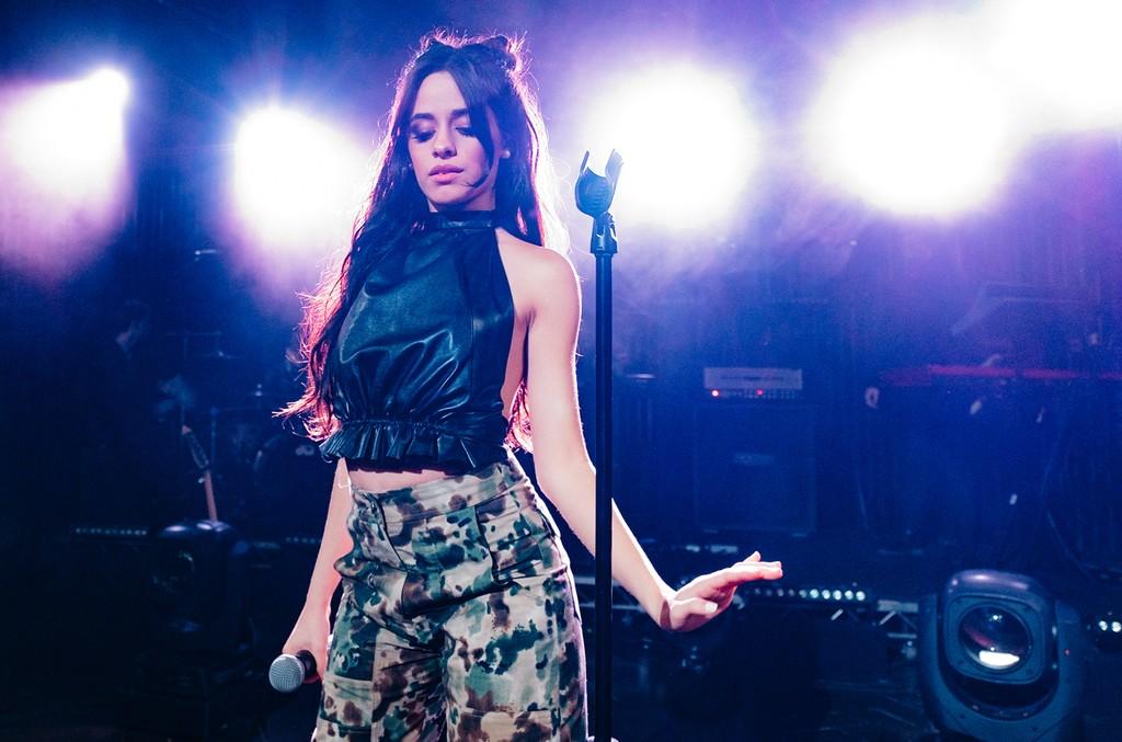 Camila Cabello performs in 2016