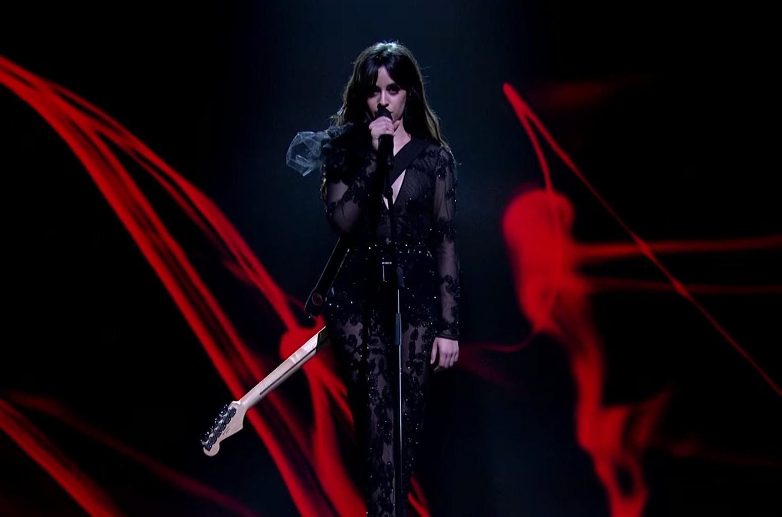 Camilla Cabello Performs 'Never Be the Same' on Dancing On Ice 2018