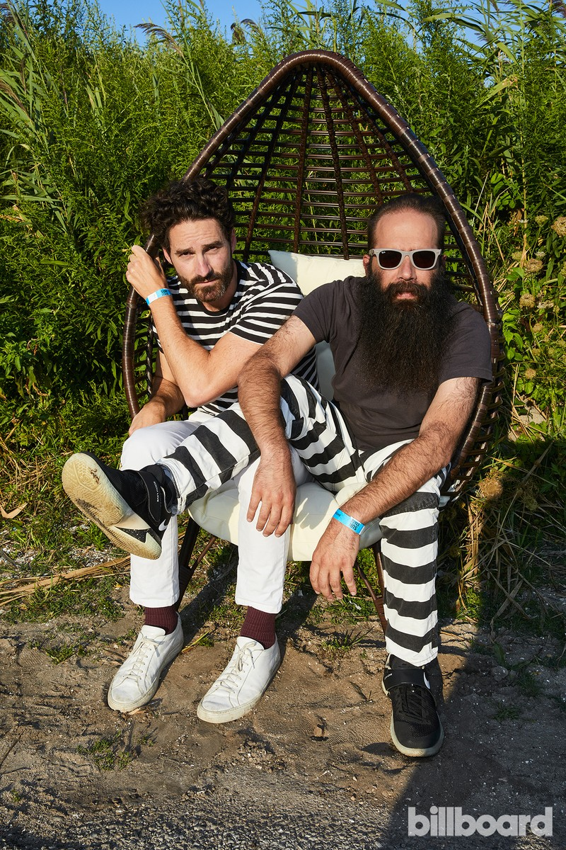 Capital Cities at the Hot 100 Music Festival, 2017