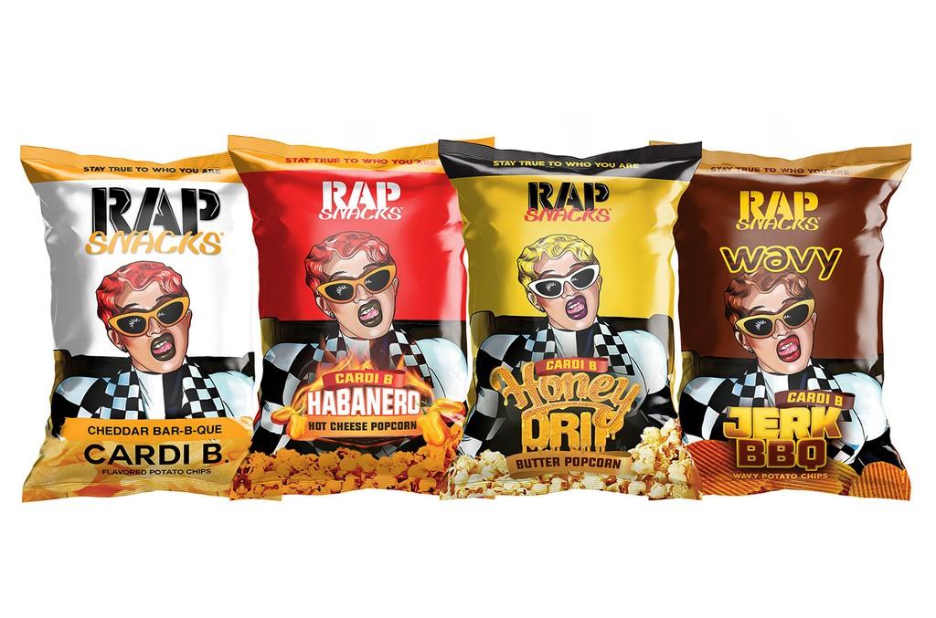 Cardi B Rap Snacks in new flavors.
