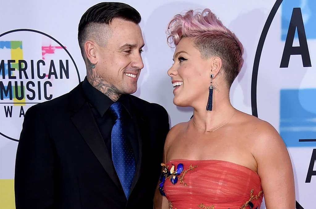Carey Hart and Pink