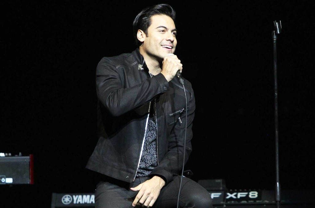 Carlos Rivera  the Latin Grammy Acoustic Sessions Los Angeles on Sept. 21, 2016 in Los Angeles.
