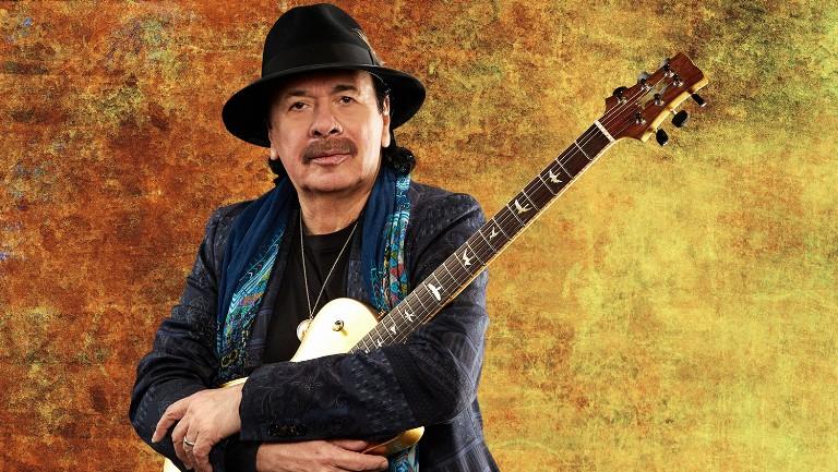 <p>Carlos Santana</p>