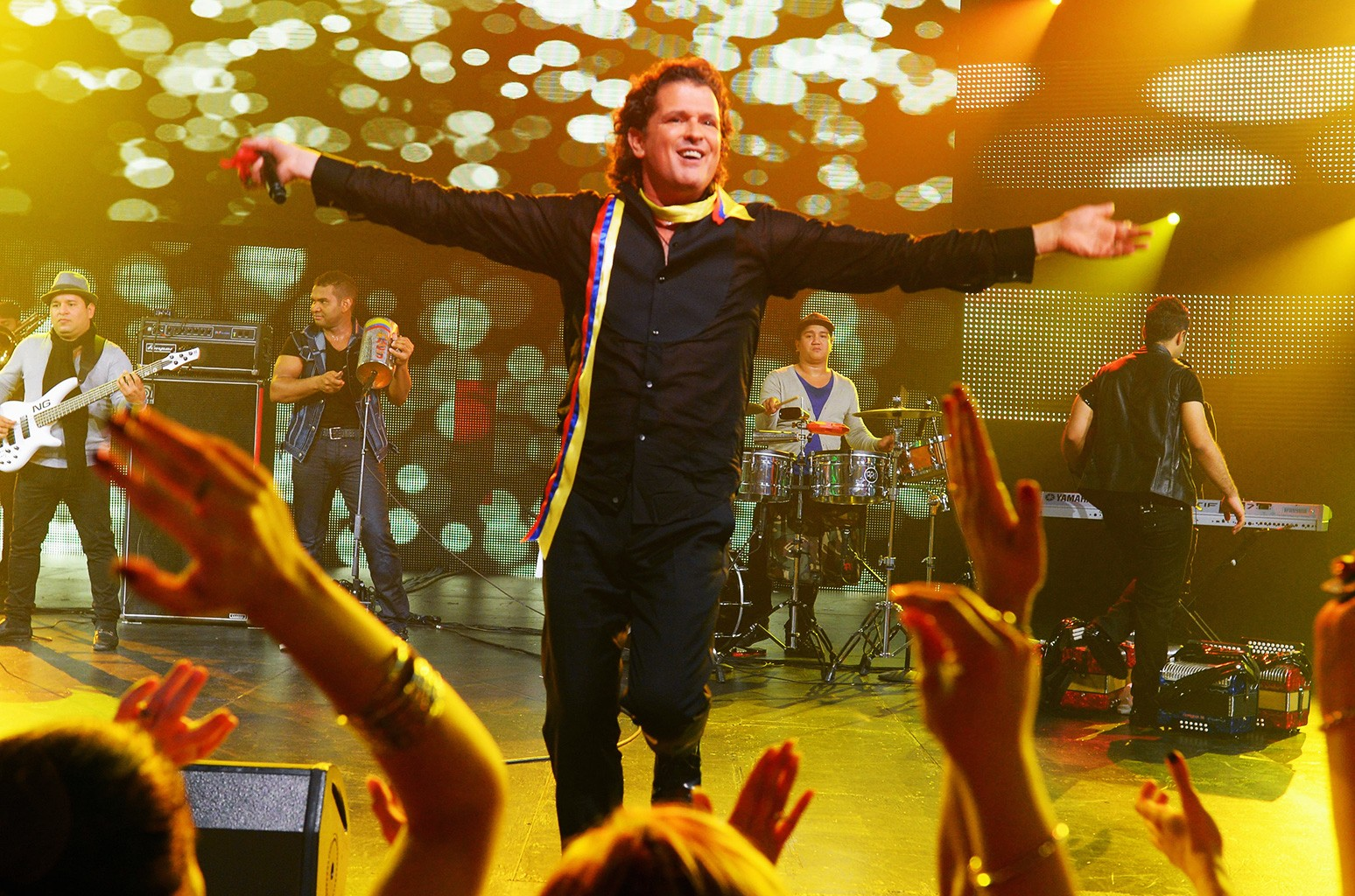 Carlos Vives performs onstage at The 14th Annual Latin Grammy Awards after party at the Mandalay Bay Events Center on Nov. 21, 2013 in Las Vegas.