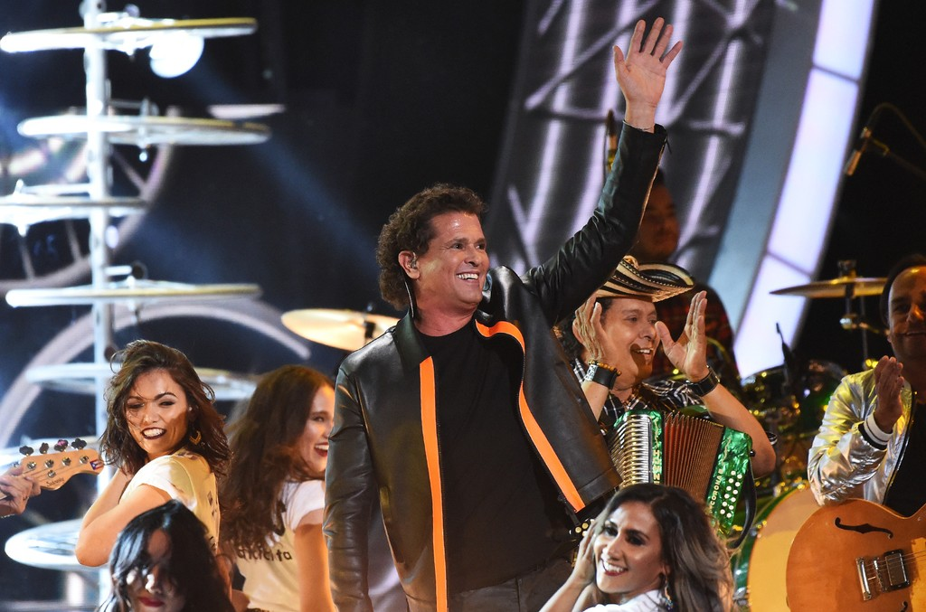 Carlos Vives performs during the show of the 17th Annual Latin Grammy Awards on Nov. 17, 2016, in Las Vegas.