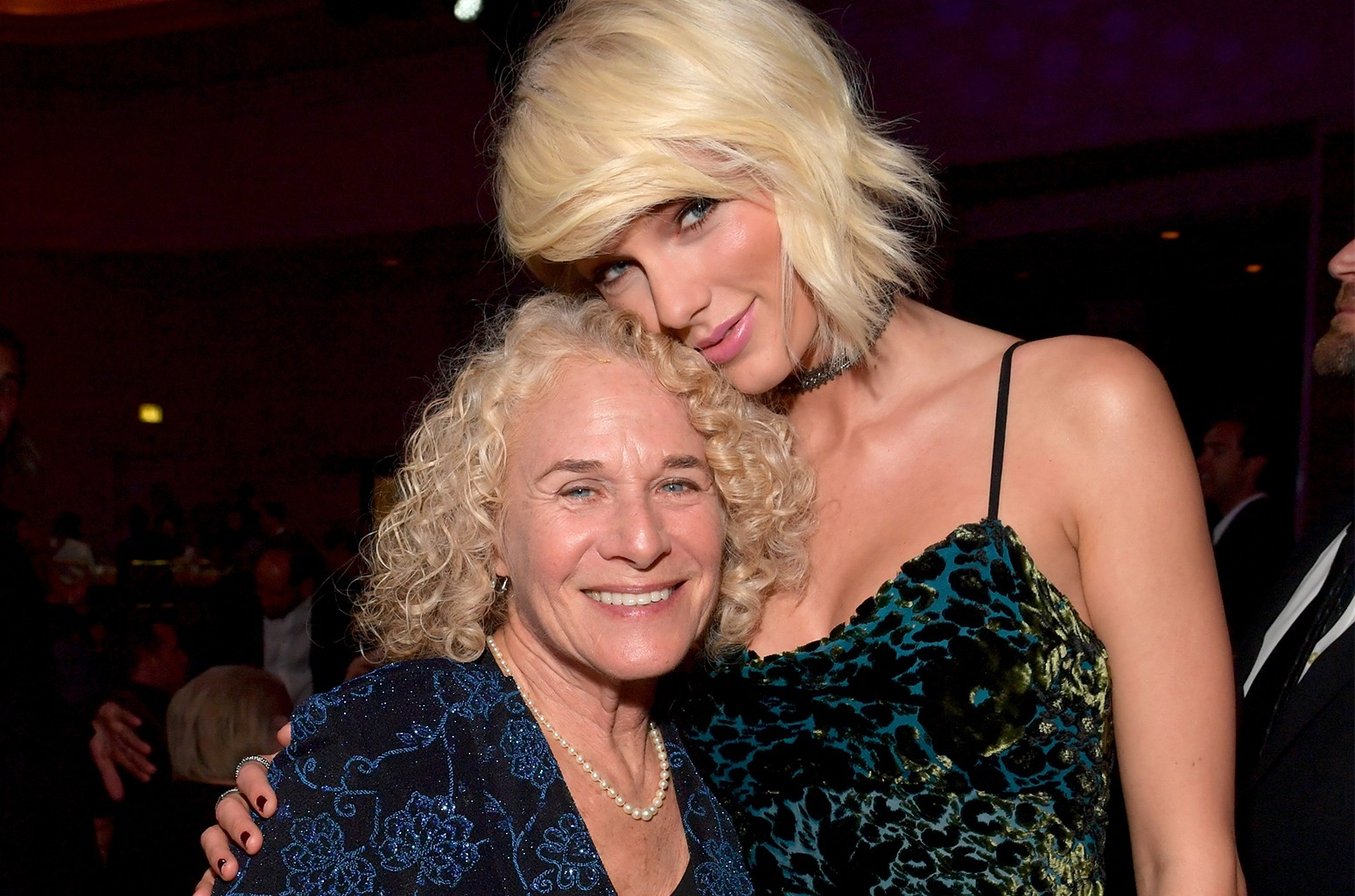Carole King and Taylor Swift