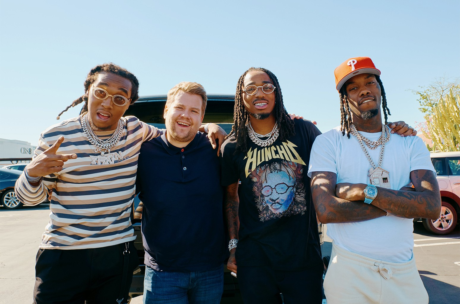 Carpool Karaoke with Migos on The Late Late Show with James Corden.
