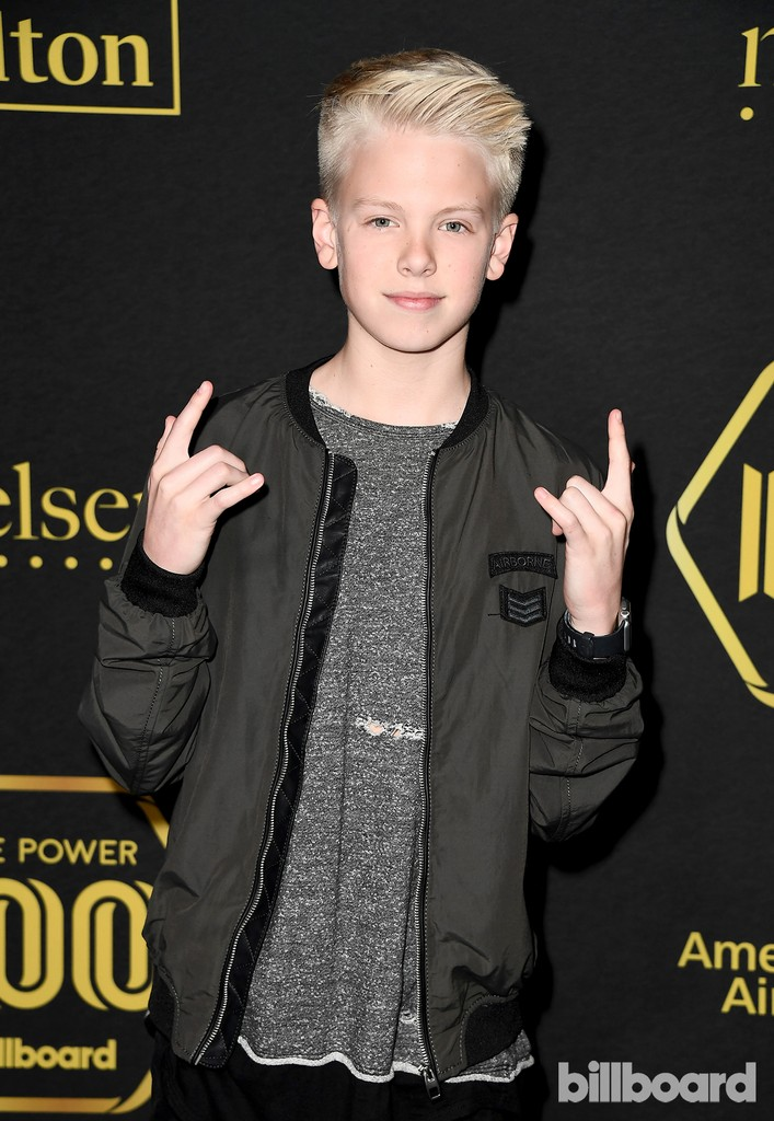 Carson Lueders attends Billboard Power 100 - Red Carpet at Cecconi's on Feb. 9, 2017 in West Hollywood, Calif.