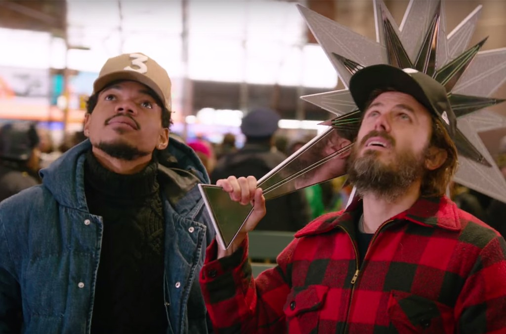 Chance the Rapper and Casey Affleck