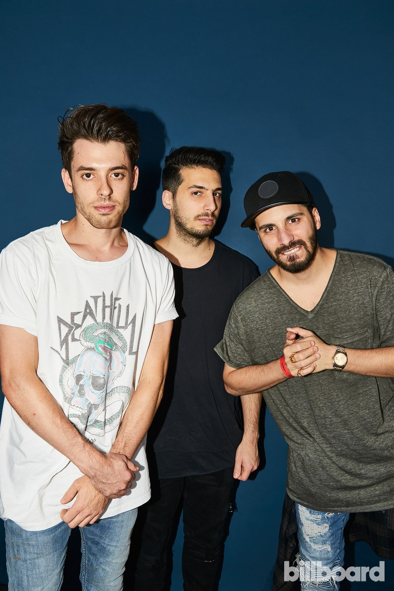 Cash Cash at the Hot 100 Music Festival, 2017