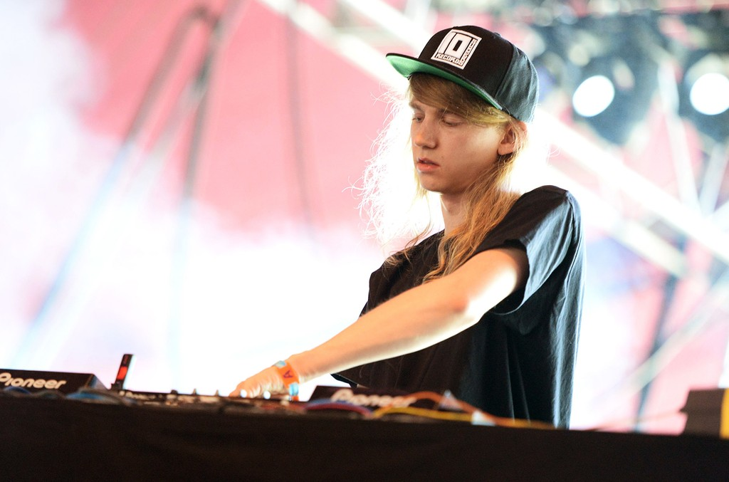 Cashmere Cat performs during Coachella Music Festival at The Empire Polo Club on April 18, 2015 in Indio, Calif.