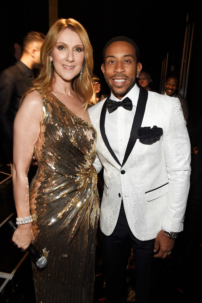 Celine Dion and Ludacris