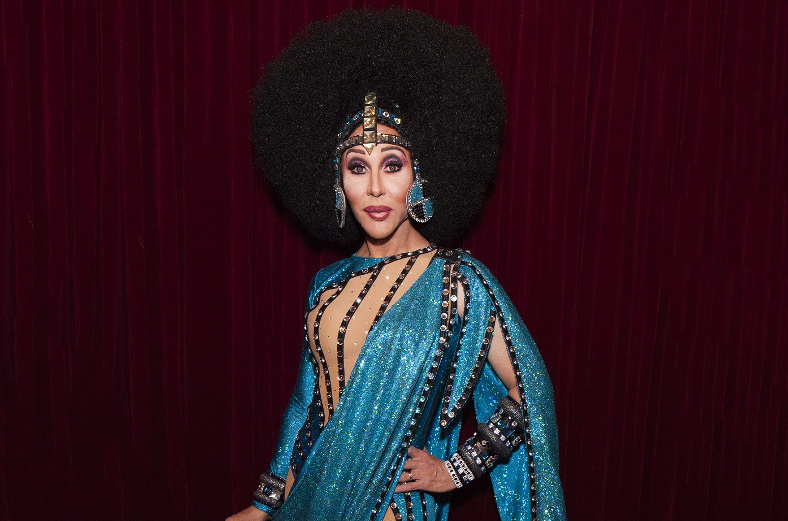 Chad Michaels attends VH1 Presents RuPaul's DragCon Party at Belasco Theatre on April 28, 2017 in Los Angeles.