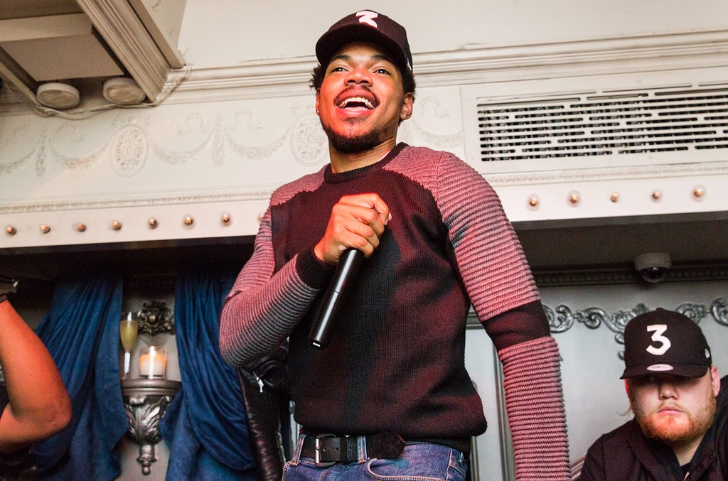 Chance the Rapper at Up&Down after The Meadows Music & Arts Festival on Oct. 1, 2016.