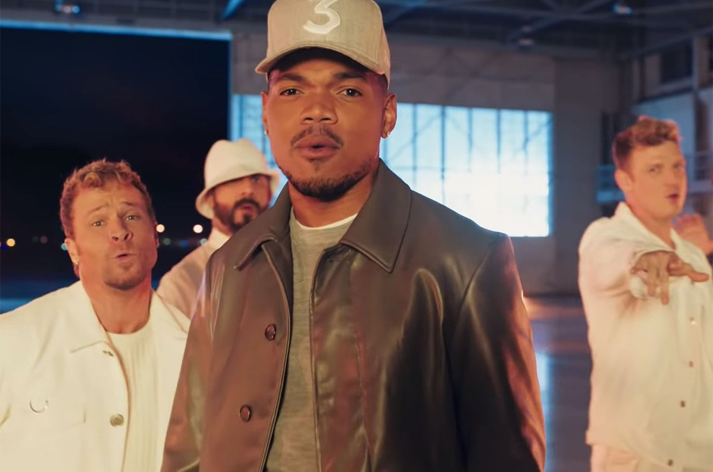 Chance the Rapper and Backstreet Boys in a Doritos Super Bowl Commercial