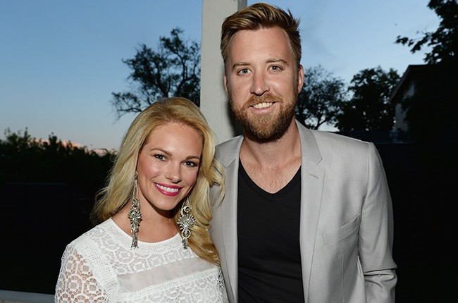 Charles Kelley and wife Cassie McConnell