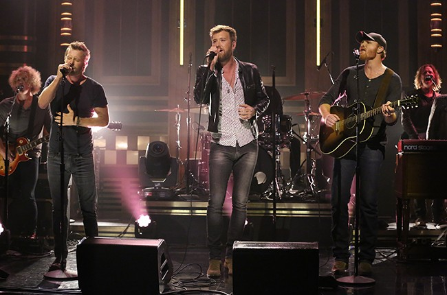 """Charles Kelley, Dierks Bentley and Eric Paisley perform on """"The Tonight Show Starring Jimmy Fallon"""""""