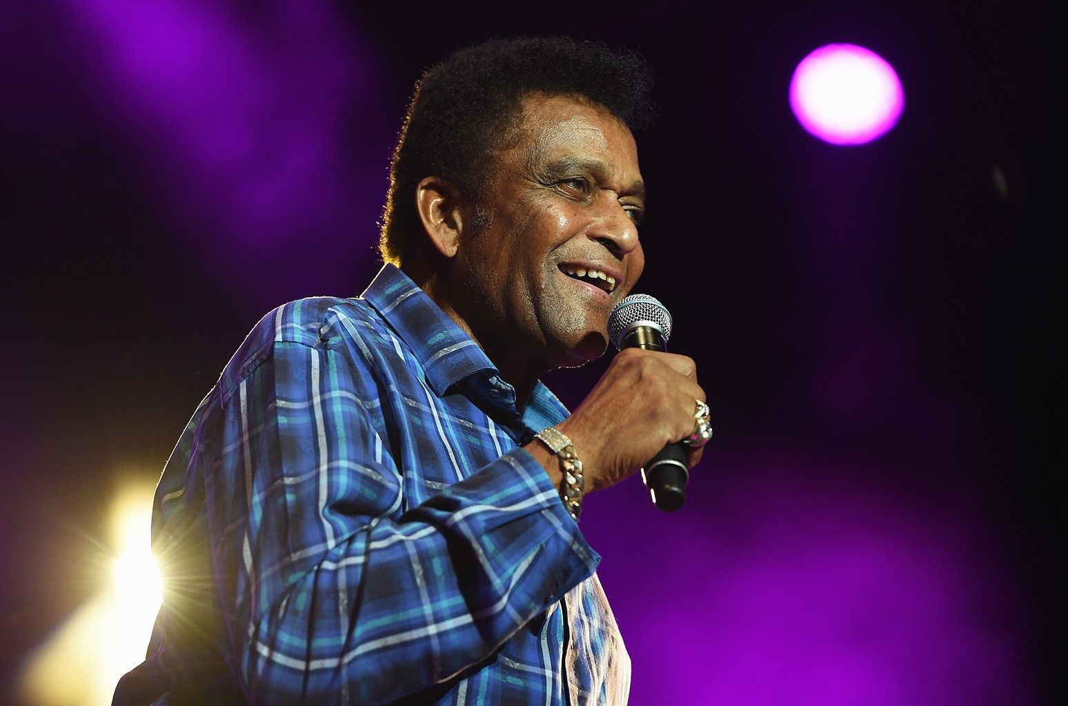 "Charley Pride performs during the 7th annual ""Darius and Friends"" concert at Wildhorse Saloon on June 6, 2016 in Nashville, Tenn."
