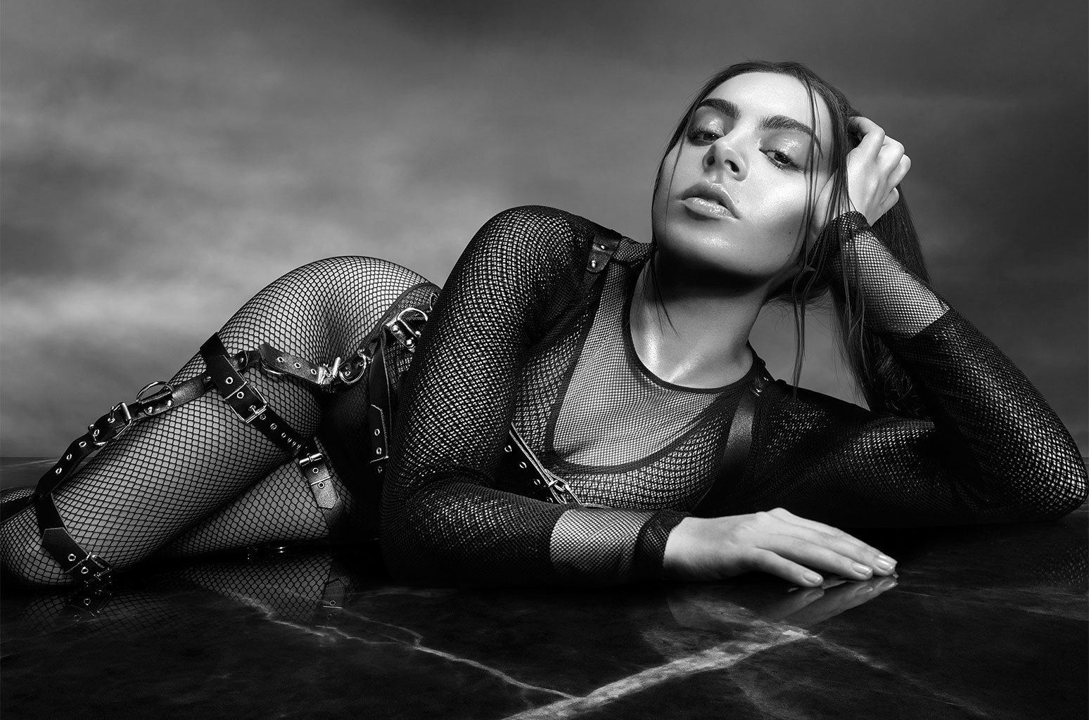 Charli XCX photographed in 2016.
