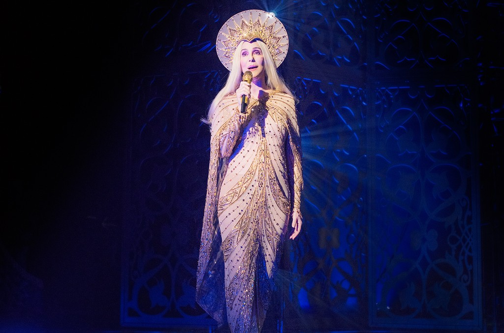 Cher performs at Park Theater at Monte Carlo Resort and Casino in Las Vegas.