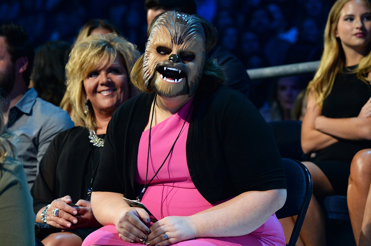 """""""Chewbacca Mom"""" Candace Payne attends the 2016 CMT Music awards"""