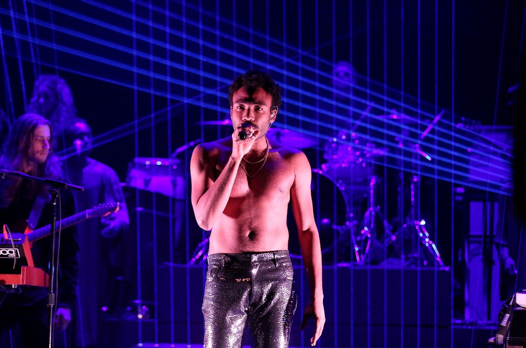 Childish Gambino performs on The Tonight Show Starring Jimmy Fallon on Dec. 14, 2016.