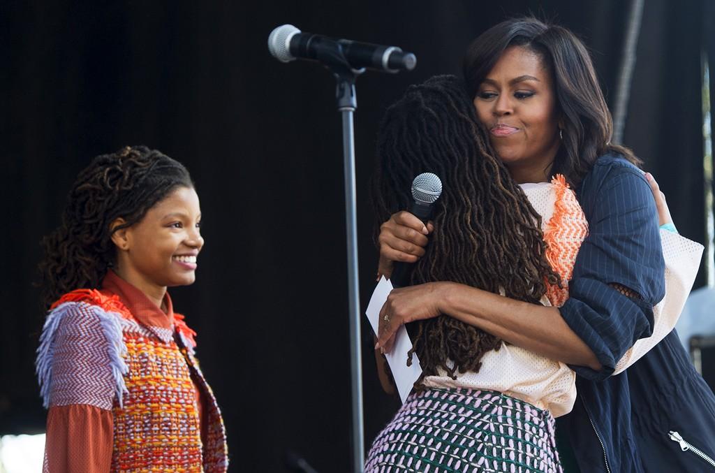 Chloe x Halle & Michelle Obama