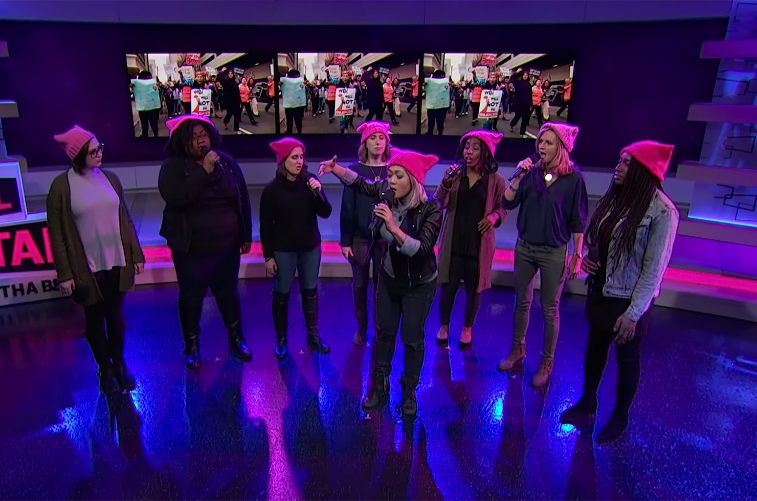 Choir perform on 'Full Frontal with Samantha Bee.'