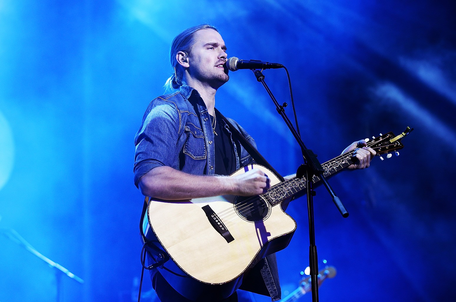 """Chord Overstreet performs during Ford Hosts """"Go Small, Live Big"""" Interactive Festival at Hollywood & Highland Courtyard on Nov. 16, 2016 in Hollywood, Calif."""