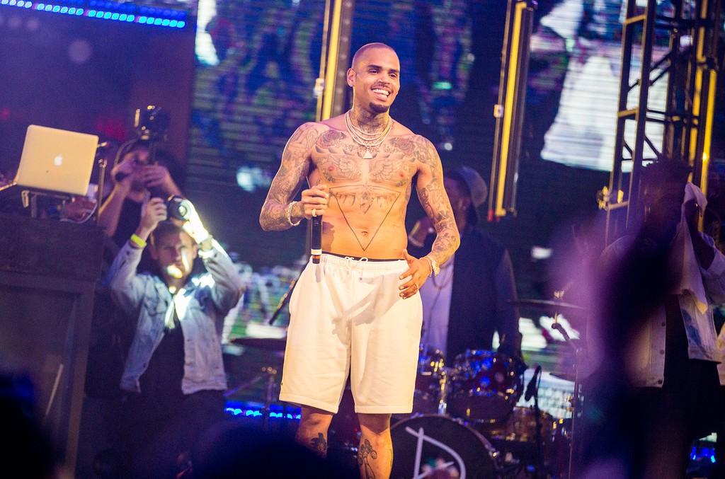 Chris Brown at Drai's Nightclub Las Vegas