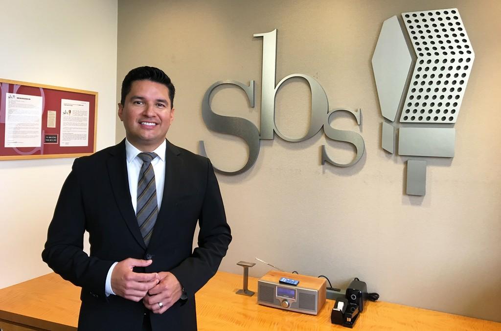 Chris Carrillo, the new VP/GM of SBS LA.