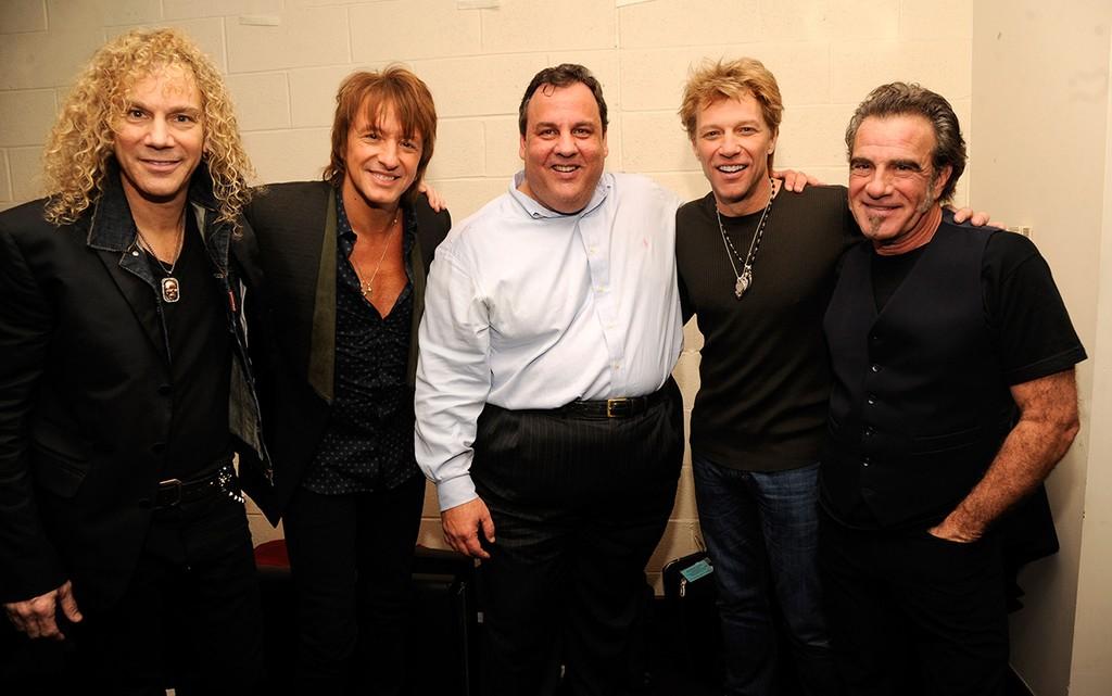 Chris Christie & Bon Jovi