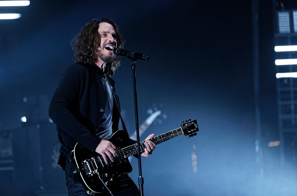 Chris Cornell onstage at the Fox Theatre on May 17, 2017.