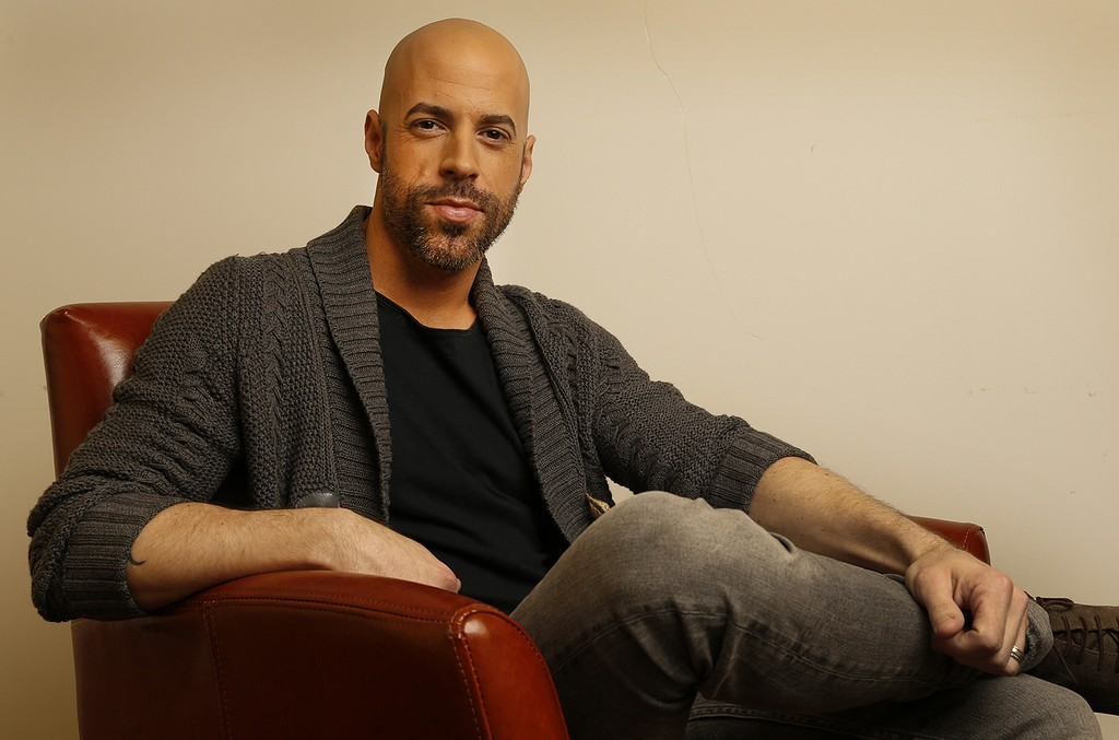 Chris Daughtry photographed in Los Angeles