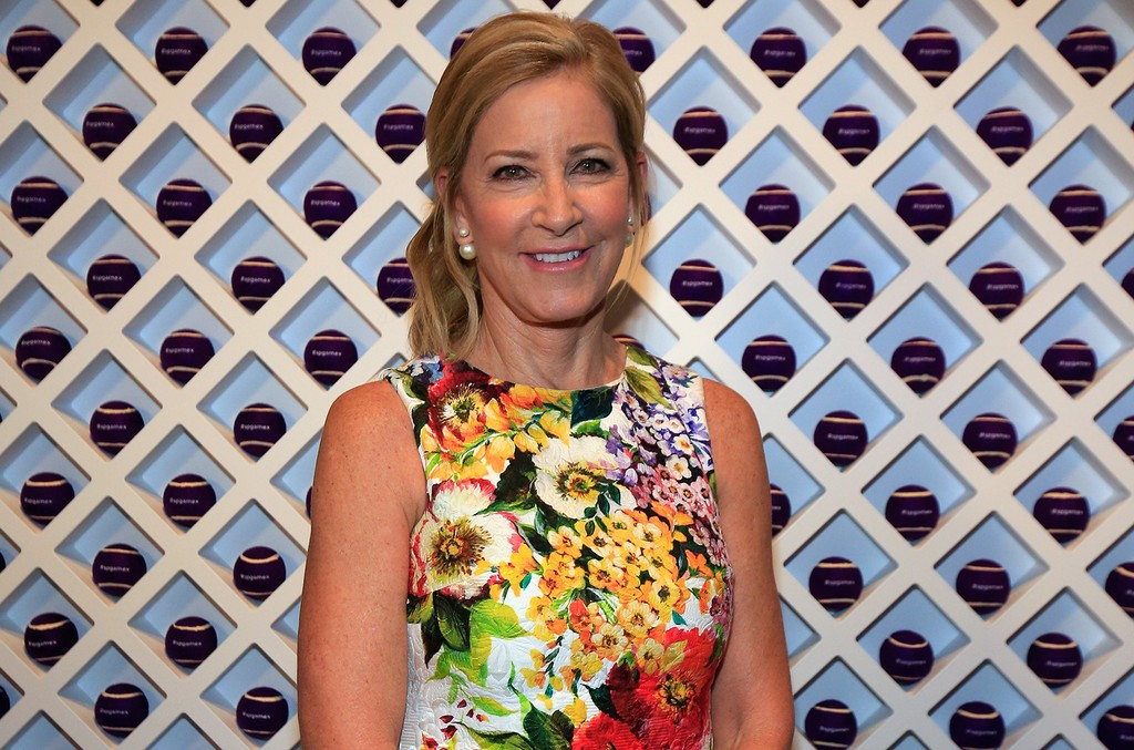 Chris Evert at the 2016 US Open