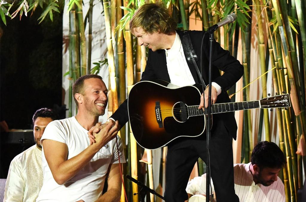 Chris Martin and Beck
