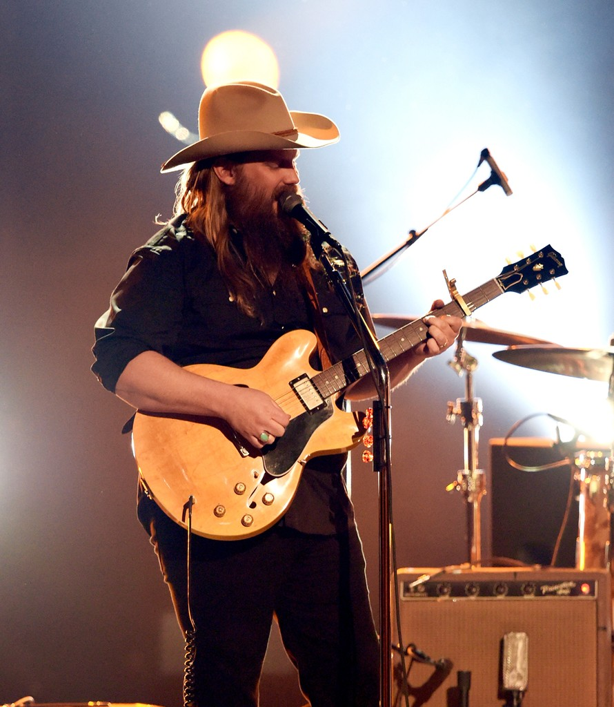Chris Stapleton performs onstage during the 52nd Academy Of Country Music Awards at T-Mobile Arena on April 2, 2017 in Las Vegas.
